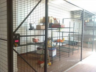 Welded Mesh Wire Security Cages in NYC