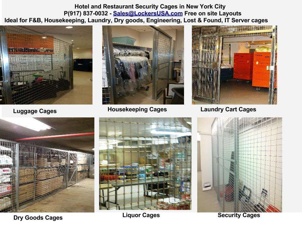 Liquor Cages NYC for Hotels and Restaurants NYC