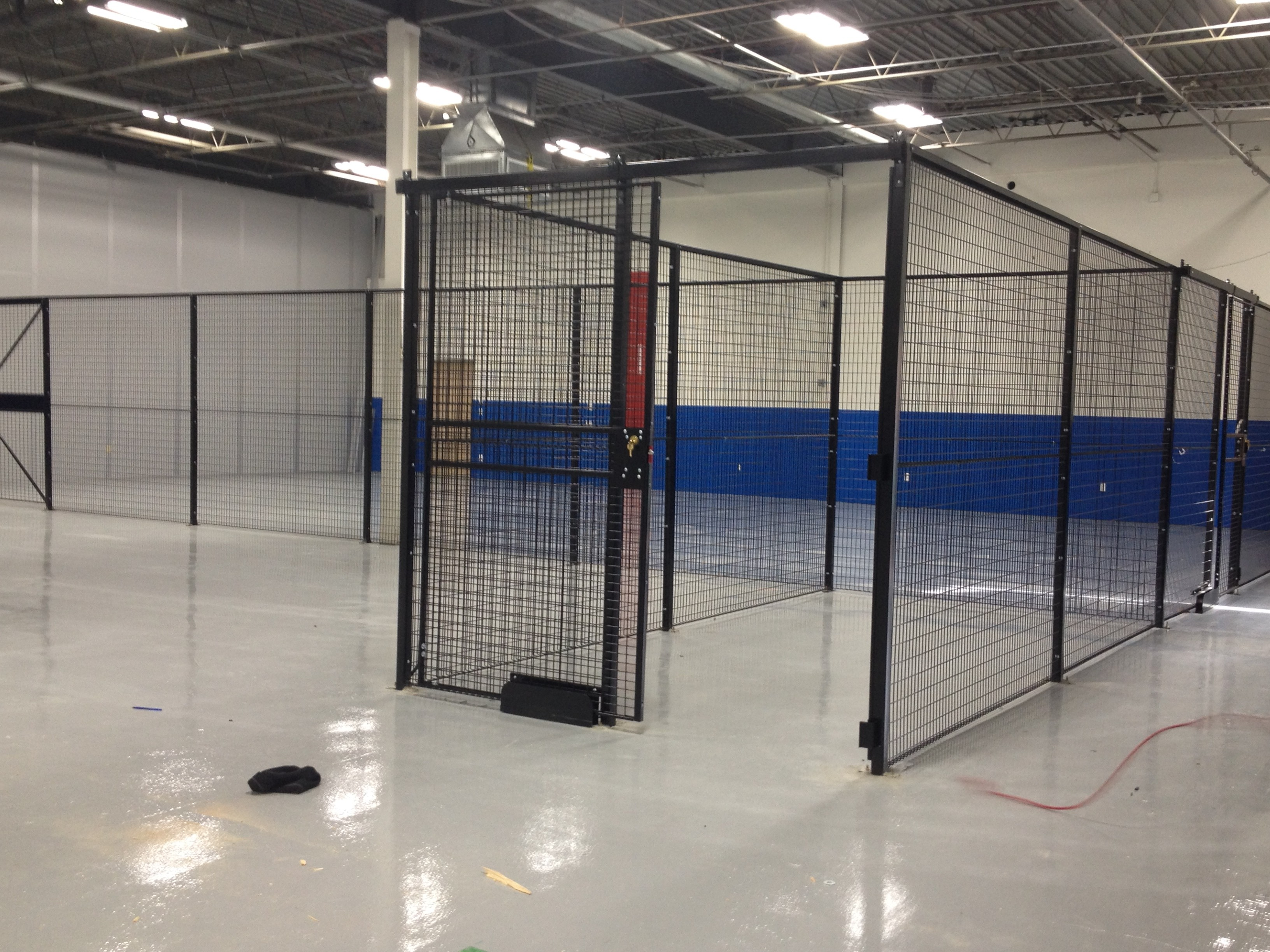 Security Cages Mercer County Nj Robbinsville Nj Warehouse